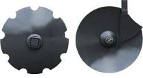 gradas de discos más grandes