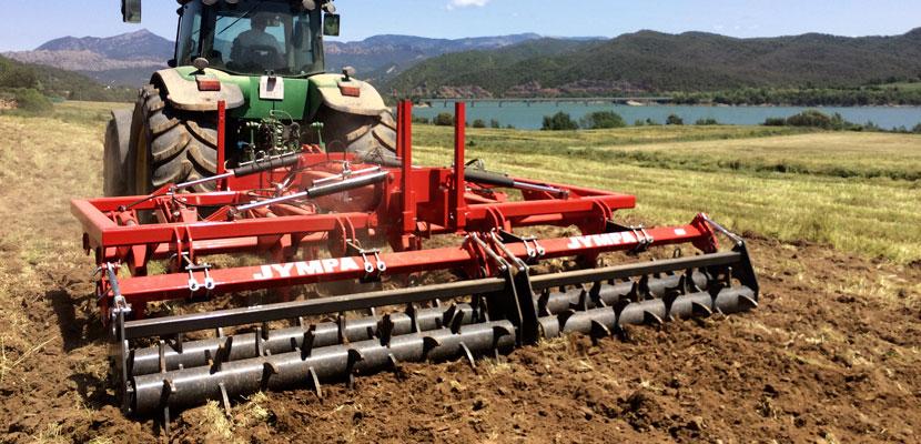 subsolador tractor grande